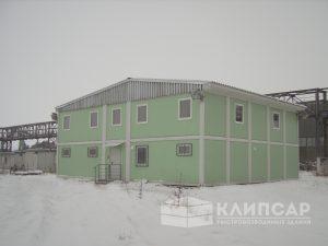 Быстровозводимые здания в промышленности
